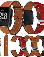 cheap -Watch Band for Fitbit Versa / Fitbi Versa Lite / fitbit versa 2 Fitbit Sport Band Genuine Leather Wrist Strap