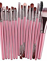 cheap -makeup brushes set, 15 pieces professional cosmetic eye foundation face eyeshadow shadow eyeliner blush lip blending makeup brushes tools (fk)