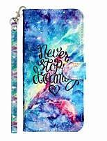 cheap -Case For Samsung Galaxy S20 S20 Plus S20 Ultra Wallet Card Holder with Stand Full Body Cases Blue Starry Sky PU Leather TPU for Galaxy A21s Galaxy A01 Galaxy A31 Galaxy A41 Galaxy A51 Galaxy A71