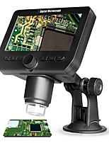 cheap -inskam317 2.0MP Multifunctional Wireless 4.3 Inch Display Screen Microscope with 8 Adjustable Brightness LED Lights Suction Cup Base