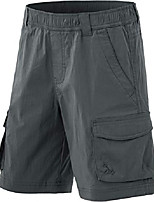 cheap -kids youth pull on cargo shorts, outdoor camping hiking shorts, lightweight elastic waist athletic short with pockets, driflex shorts(bxs416) - charcoal, 6-7 x-small
