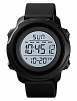 cheap -men's digital sports watch military electronic waterproof wrist watches for men with stopwatch alarm led backlight litbwat