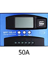 cheap -50A MPPT Solar Charge Controller Dual USB LCD Display Auto Solar Cell Panel Charger Regulator Charge