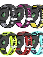 cheap -Watch Band for Forerunner 735 / Forerunner 630 / Forerunner 620 Garmin Classic Buckle Silicone Wrist Strap