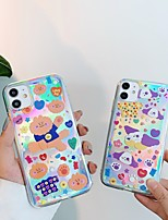 cheap -Case For Apple iPhone 11 Shockproof / Dustproof Back Cover Animal / Cartoon TPU For Case iphone 11 Pro/11 Pro Max/7/8/7P/8P/SE 2020/X/Xs/Xs MAX/XR