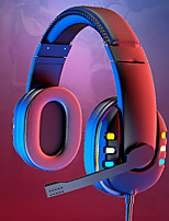 cheap -LITBest AK-47 Professional Gaming Headphones Led Light Game Headset for Computer Adjustable Bass Stereo PC Wired Headset With Mic