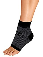 cheap -fs6 foot bracing sleeve treats plantar fasciitis, achilles tendonitis and relieves heel pain in a soft, moisture-wicking fabric (xlarge, black)