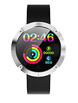 cheap -OUKITEL W5 Smart Bracelet Heart Rate Monitor Step Count Sedentary Reminder 1.22 Inch 200mAh IP68 Waterproof Smart Watch