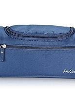 cheap -toiletry bag travel case with hanging hook, dopp kit organizer for accessories, shampoo, cosmetic, personal items, healthcare bag with handle, navy blue
