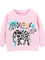 cheap -Toddler Boys' Basic Graphic Letter Long Sleeve Hoodie & Sweatshirt Blushing Pink