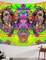 cheap -Wall Tapestry Art Decor Blanket Curtain Picnic Tablecloth Hanging Home Bedroom Living Room Dorm Decoration Polyester New And Weird Multi-Face Patterns Psychedelic