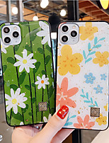 cheap -Case For iPhone 11ProMax/11Pro/11/iPhoneXS Max/XR/XS/7/8Plus/SE 2020/6P Shockproof Dustproof Back Cover Flower TPU