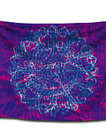 cheap -Wall Tapestry Art Decor Blanket Curtain Picnic Tablecloth Hanging Home Bedroom Living Room Dorm Decoration Polyester Bohemia Mandala Blue Purple View
