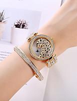 cheap -Women's Quartz Watches Quartz Modern Style Stylish Classic Chronograph Analog Rose Gold Gold Silver / Imitation Diamond