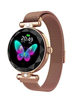 cheap -ZGPAX Fashion Women S216 Smart Watch Heart Rate Blood Pressure Waterproof Sleep Monitor 3D Diamond Glass Lady Smartwatch for Android/ iPhone/ Samsung Phones
