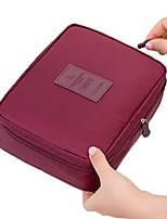 cheap -multi-function travel cosmetic bag waterproof makeup bags (grey)
