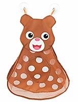 cheap -baby toy storage bag bath toy organizer bath toy storage duck, frog, rabbit, bear net bag, bathroom storage bag (bear)