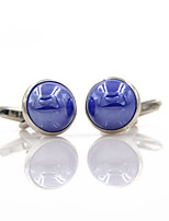 cheap -Cufflinks Simple Basic Brooch Jewelry Blue For Daily Festival