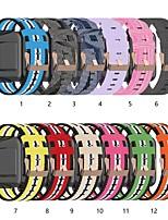 cheap -Watch Band for Huawei Watch Huawei B5 Fossil Gen 4 Q Venture HR Huawei Classic Buckle Nylon Wrist Strap