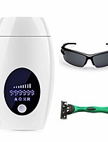 cheap -permanent ipl hair removal device 999,999 flashes and 8 energy levels facial whole body professional hair removal system for woman and male at-home