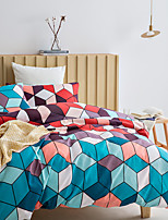 cheap -Colorful Geometric Diamond Print 3-Piece Duvet Cover Set Hotel Bedding Sets Comforter Cover with Soft Lightweight Microfiber(Include 1 Duvet Cover and 1or 2 Pillowcases)