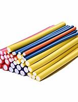 cheap -foam curler roller flex rods reusable cable ties/wrap to organize cords random color diamerter 1.6cm(1pack)