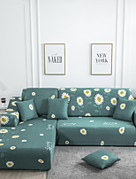 cheap -Stretch Slipcover Sofa Cover Couch Cover Daisy Printed Sofa Cover Stretch Couch Cover Sofa Slipcovers for 1~4 Cushion Couch with One Free Pillow Case