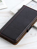 cheap -Case For LG K51 Stylo 6 K61 Wallet Card Holder with Stand Solid Colored Genuine Leather Case For LG K41S K51S V60 ThinQ 5G G9 G8X ThinQ Q70 K50S K40S K30 K20(2019) W30 W10 Stylo 5 Q60 K50