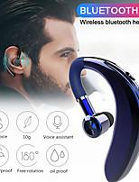 cheap -Business Bluetooth 5.0 Koptelefoon Oorhaak Stereo Mini Draadloze Hoofdtelefoon Noise Cancelling Sport In-Ear Headset Oordopjes Met Microfoon