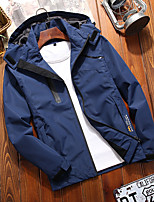 cheap -Women's Hiking Jacket Winter Outdoor Thermal Warm Waterproof Windproof Breathable Jacket Top Outdoor Black / Red / Fuchsia / Pink / Dark Blue