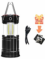 cheap -Camping Lanterns & Tent Lights Emergency Lights LED Zoomable Rechargeable Emitters Zoomable Rechargeable Super Bright Collapsible Multifunction Camping / Hiking / Caving Fishing Multifunction Fishing