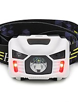 cheap -6 Headlamps Waterproof Rechargeable Emitters with USB Cable Waterproof Rechargeable Adjustable Camping / Hiking / Caving Fishing Outdoor White Black Red