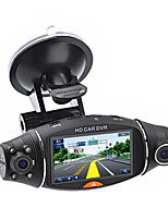 cheap -2.7''HD 1080P Dual Lens Auto Camera Auto DVR 140 Graden Voor Achter Dash Cam Auto Recorder G -sensor Car Cam Recorder Nachtzicht