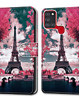 cheap -Case For Samsung Galaxy Note 20 Galaxy Note 20 Ultra Galaxy A21s Wallet Card Holder with Stand Full Body Cases Tower Bridge PU Leather TPU for Galaxy A51 5G Galaxy A71 5G Galaxy S20 Ultra