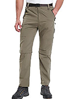 cheap -mens hiking pants adventure quick dry convertible lightweight zip off fishing mountain hunting trousers #9999