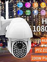cheap -1080P HD IP CCTV era Surveillance IP67 Waterproof Outdoor Camera Wi-Fi PTZ 2MP 46LED H.264 Security IR Camera