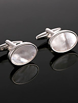 cheap -Cufflinks Simple Basic Brooch Jewelry Silver For Daily Festival