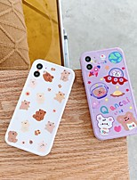 cheap -Case For Apple iPhone 11 / iPhone 11 Pro / iPhone 11 Pro Max Shockproof / Dustproof Back Cover Cartoon TPU For Case iphone 11 Pro/11 Pro Max/7/8/7P/8P/SE 2020/X/Xs/Xs MAX/XR