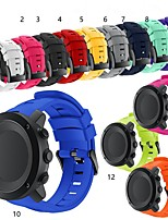 cheap -Watch Band for suunto Ambit3 vertical Suunto Classic Buckle Silicone Wrist Strap