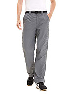 cheap -mens lightweight fishing cargo pants, quick-dry, water-resistant, breathable dark grey large