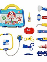 cheap -15 pcs doctors set for kids children role playing tools doctor play set medical carry case role play toys safe fun doctor role play educational toy to develop kids imagination cognitive skills