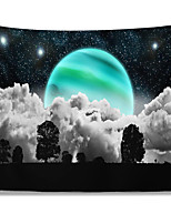cheap -Wall Tapestry Art Decor Blanket Curtain Picnic Tablecloth Hanging Home Bedroom Living Room Dorm Decoration Polyester Trees Clouds Moon Star Views