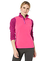 cheap -helly hansen women& #39;s daybreaker 1/2 zip lightweight fleece pullover jacket, 182 dragon fruit, medium