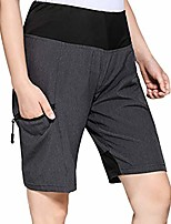 cheap --women's-outdoor-hiking-shorts-quick-dry-lightweight-for-camping-travel grey
