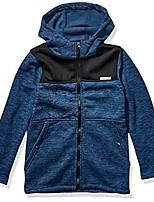 cheap -boys' big lightweight fleece jacket, blue, 18