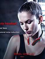 cheap -Bass Sound Bluetooth 5.0 Earphone Hook In-Ear Stable Sport Earphone Neckband With Mic Headset For All Phone