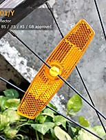 cheap -bicycle wheel reflector amber pack of 2 & #40;amber, 2pcs& #41;