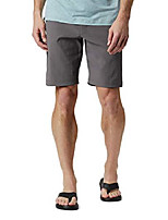 cheap -men's royce peak ii short, water & stain resistant, city grey, 38x10