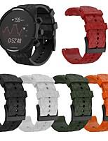 cheap -Watch Band for SUUNTO 9 Suunto Classic Buckle Silicone Wrist Strap