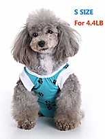 cheap -dog surgery recovery suit for dogs surgical pet suit wound cover dog cat puppy's post after surgery wear pet medical shirt bodysuit dog neuter cone alternatives (s)